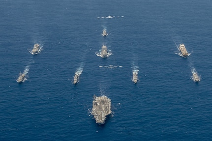 U.S. Indo-Pacific Command forces come together for Valiant Shield 2020