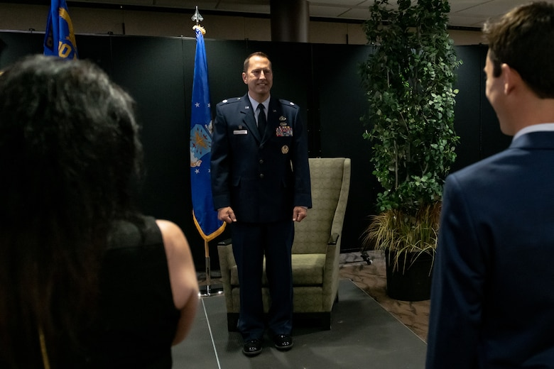 Lt. Col. Joe Winchester, the 910th Maintenance Group commander, officially assumed command of the 910th MXG, Sept. 12, 2020, at Youngstown Air Reserve Station. Winchester replaced the outgoing commander, Col. Sharon Johnson.