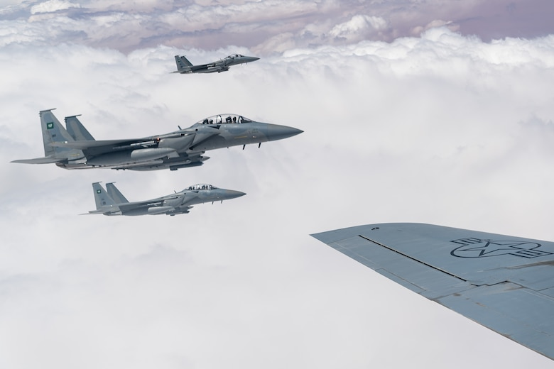 USAF, RSAF conduct Exercise Desert Eagle in CENTCOM AOR
