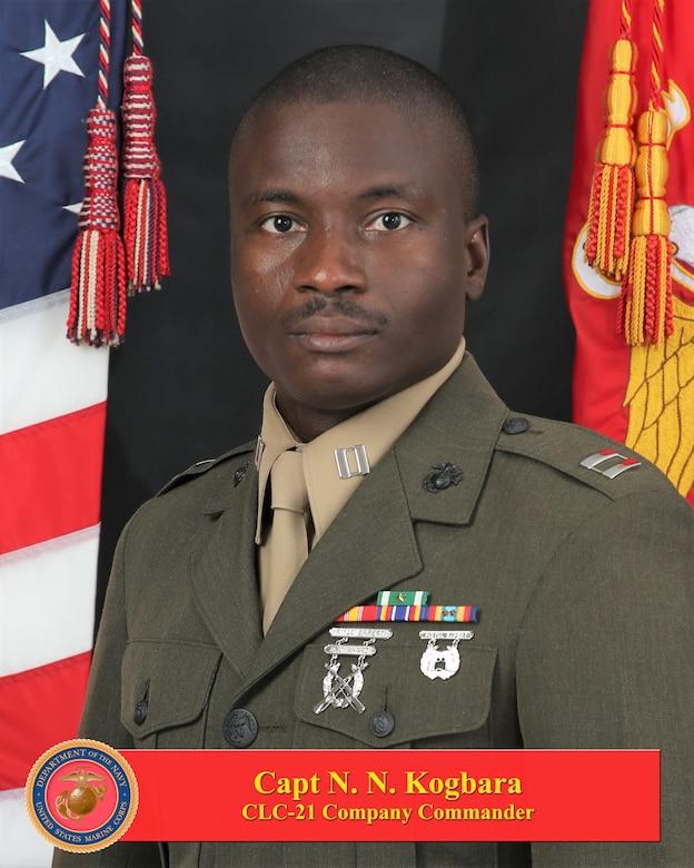 Captain Nubari N. Kogbara