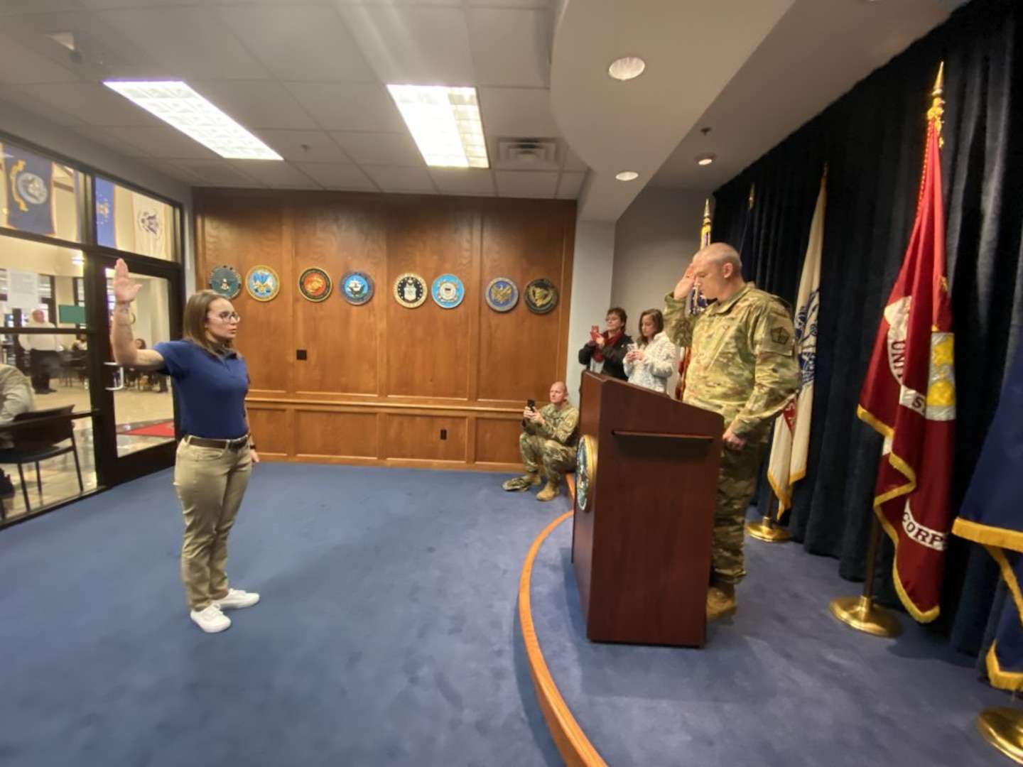 VNG recruit becomes first female to enlist as 11B