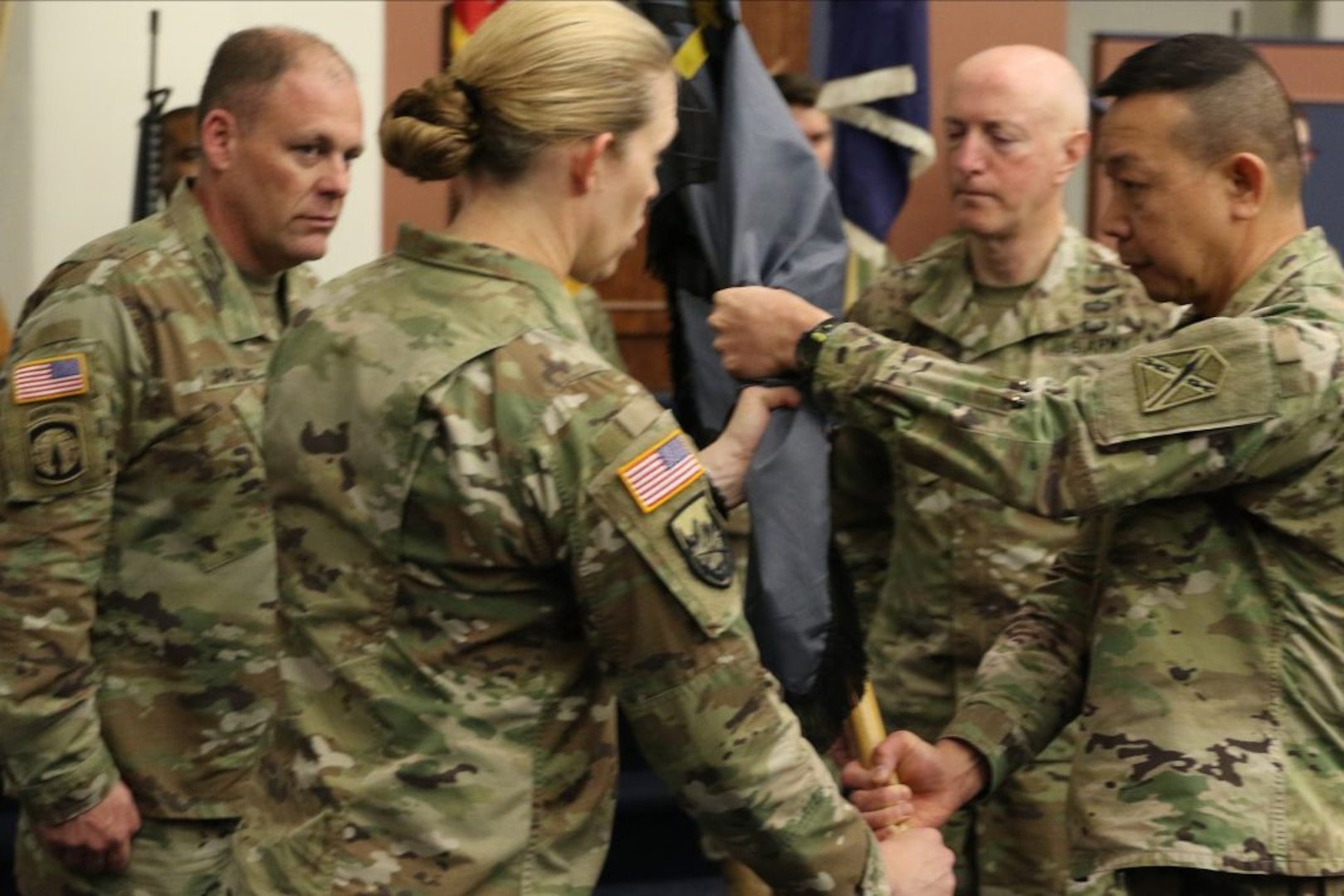 Ceremony officially welcomes new 91st Cyber Brigade commander