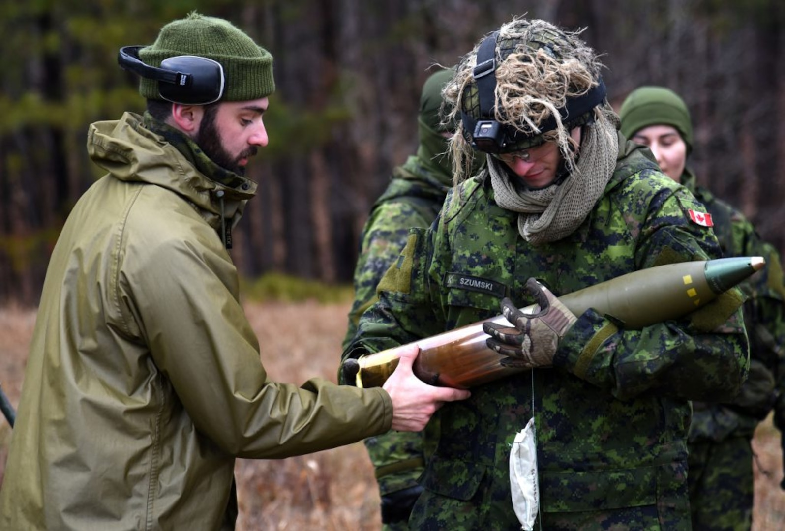 Canadian forces conduct Exercise Fighting Warrior at Fort Pickett