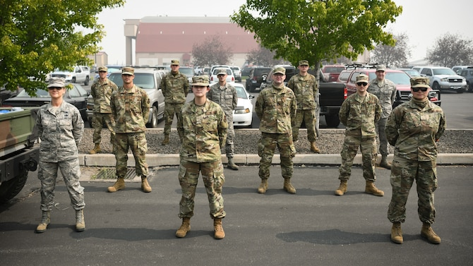 Group of Airmen
