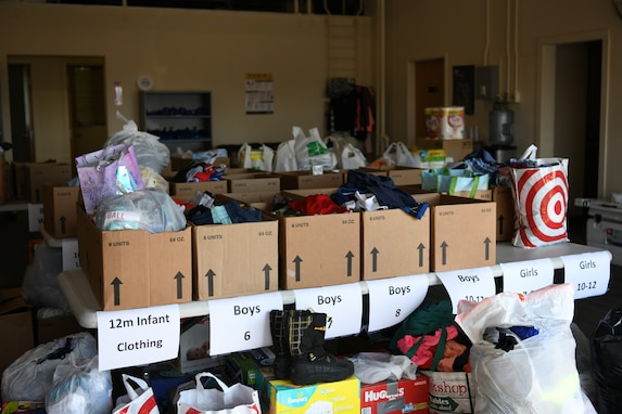 donated supplies