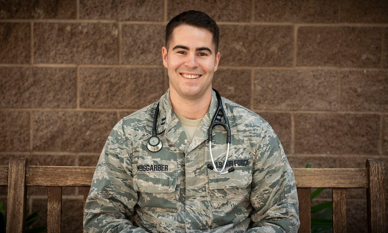 Capt. (Dr.) Christopher Weisgarber poses for a photo.