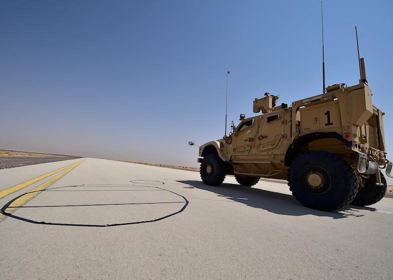 EOD Airmen train at Prince Sultan Air Base