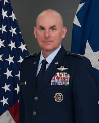 official bio photo for Lt. gen. sam barrett, director of logistics, joint staff