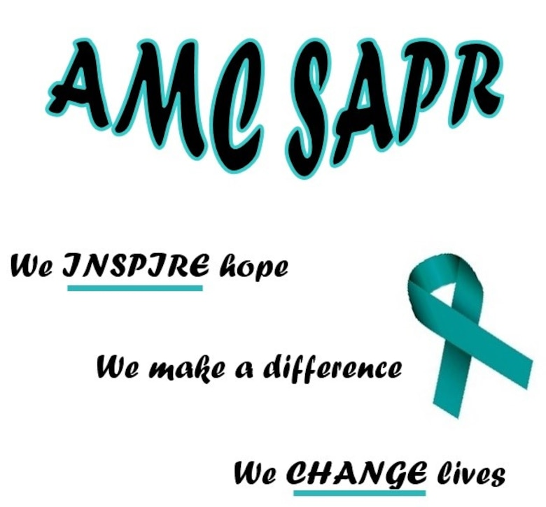 AMC SAPR Team logo - We inspire hope.  We make a difference.  We change lives