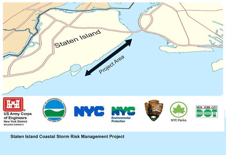 Staten Island Coastal Storm Risk Management Project area.