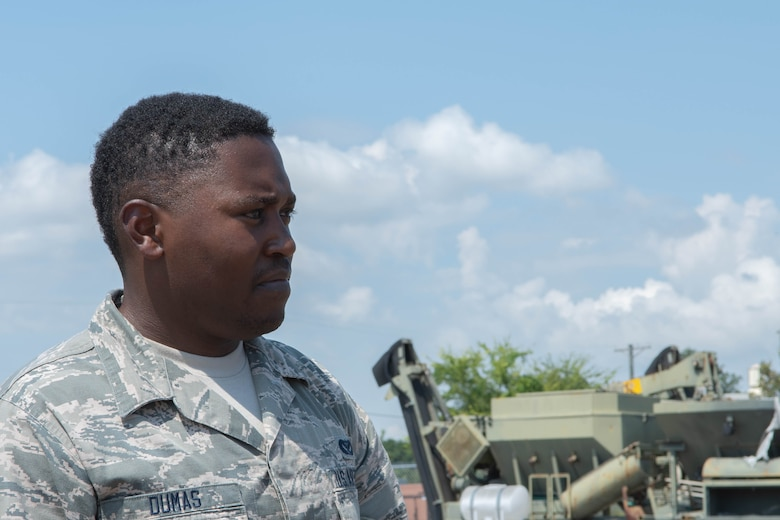 Airman looking forward
