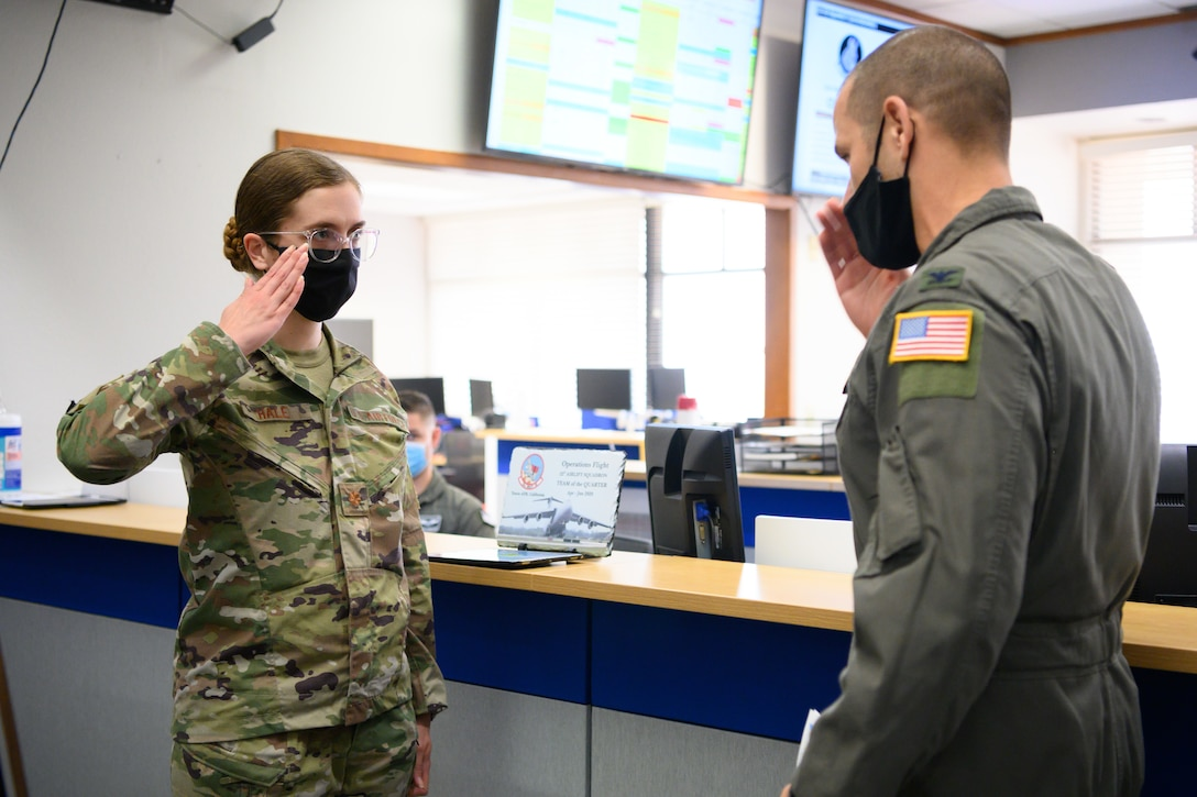Airman receives recognition