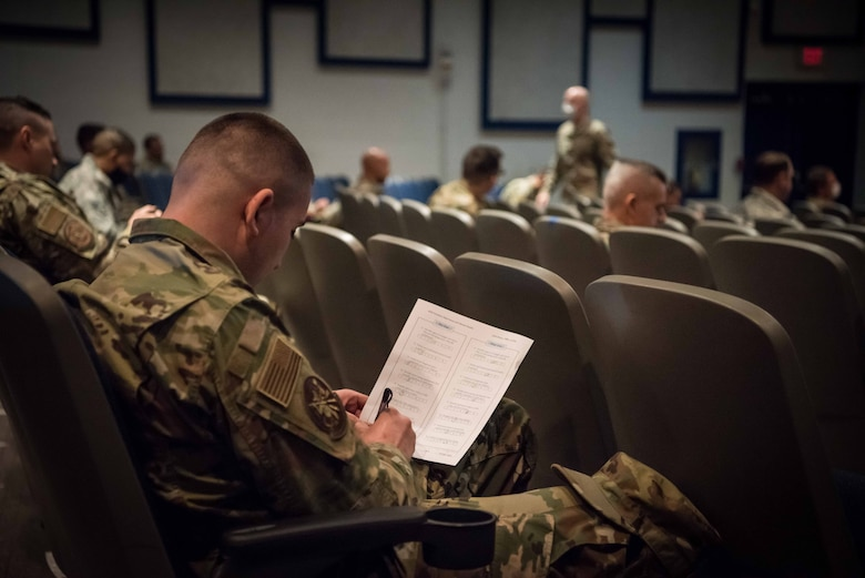 The new training, introduced for the first time during the wing's September 2020 Unit Training Assembly, was held virtually and in-person at Luke Air Force Base, Arizona.