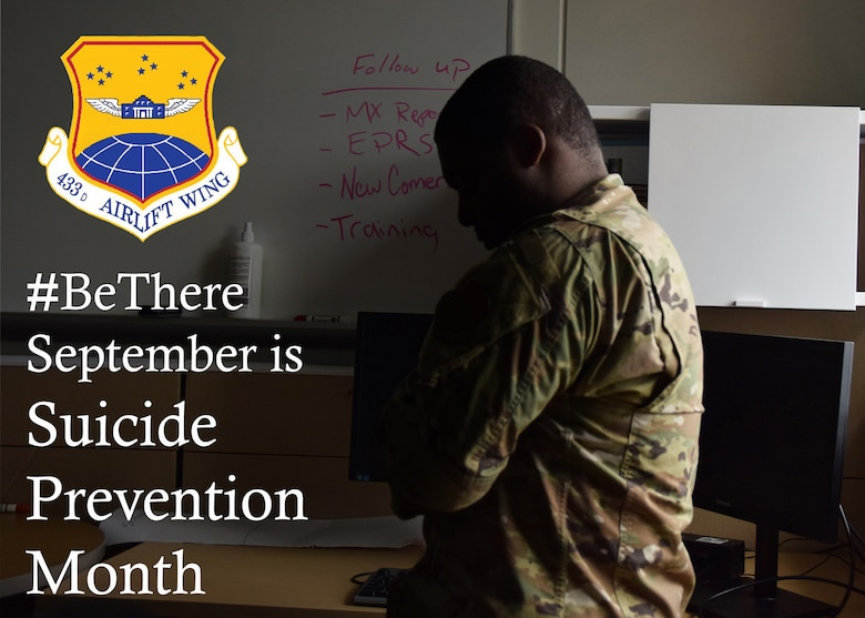Suicide Prevention is nationally observed during the month of September. The Air Force makes suicide prevention part of its annual training requirement so that Airmen can help their fellow wingmen.