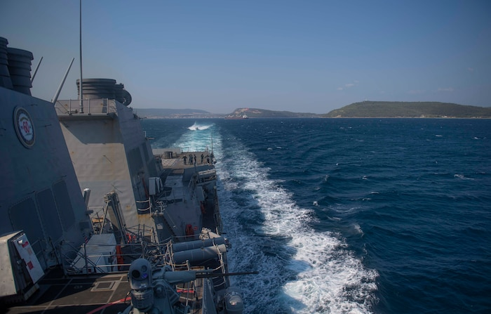 USS Roosevelt (DDG 80); Black Sea