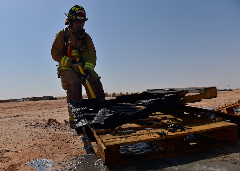 378 ECES firefighters train to save lives