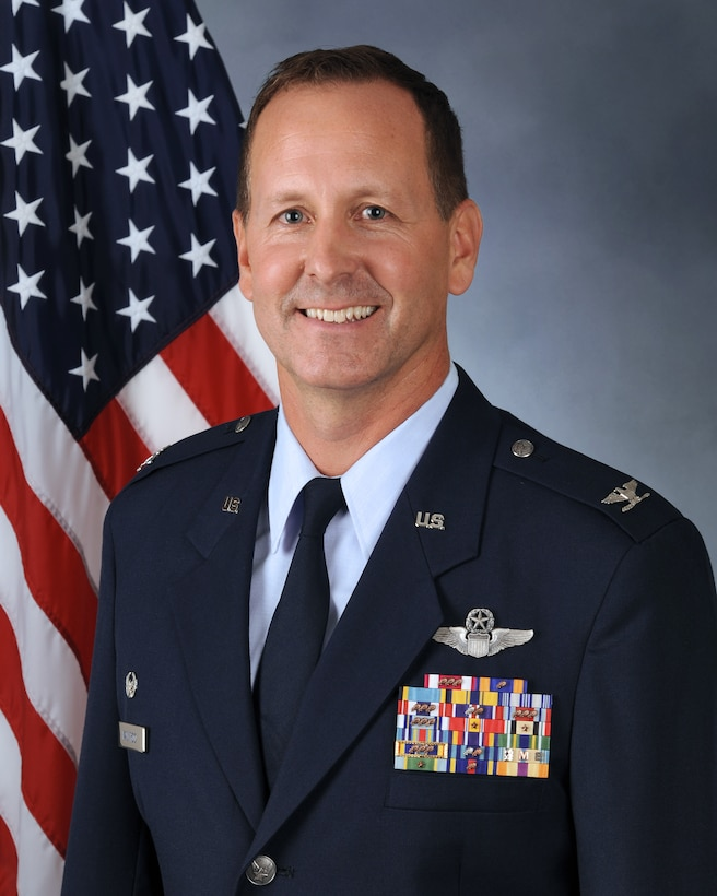 As commander, Col. Bart Van Roo is responsible for nearly 1,200 active-guard and traditional forces that support the President of the United States and the Governor of Wisconsin. With a premier fighter and mission support force made up of superior and reliable personnel, the 115th is able to successfully support community, state, and federal missions. Col. Van Roo attended the University of Wisconsin- Whitewater and University of Wisconsin-Madison and received his commission through the Academy of Military Science in April 1999.  Col. Van Roo began his military career in 1992 when he enlisted at the 115th Fighter Wing, Madison, Wisconsin as an Aeromedical Specialist. He served as a Non Commissioned Officer until 1998. In 2000, he graduated from specialized undergraduate pilot training at Laughlin Air Force Base, Texas. He then went on to complete the F-16 Training Course, Luke Air Force Base, Ariz. Col. Van Roo returned to the 115th Fighter Wing where he held numerous positions within operations, including as an F-16 pilot in support of Operation Noble Eagle as an Aerospace Control Pilot, and served at the 176th Fighter Squadron Director of Operations. In 2017, Col. Van Roo was appointed the 176th Fighter Squadron Commander, and was deployed to the Korean Peninsula with the 8th Fighter Wing as the 176th Expeditionary Fighter Squadron Commander. He then served as the 115th Fighter Wing Inspector General.  Prior to his current position, Col. Van Roo was the Director of Operations, Wisconsin Air National Guard, Joint Force Headquarters, Madison, Wis. In addition, the colonel was the Northern Lightning Exercise director at the Volk Field Combat Readiness Training Center.