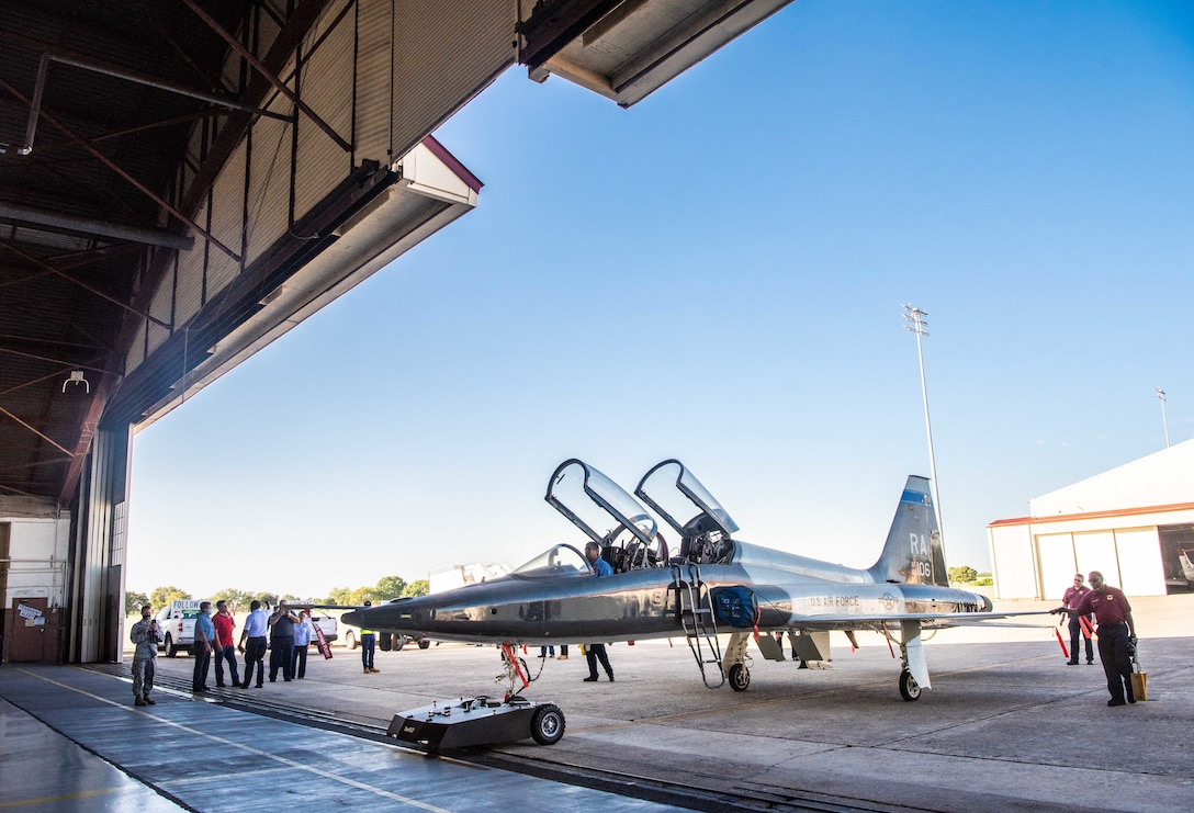 The RCATS will reduce manpower requirements, allow close quarter towing and quicker aircraft stowing ahead of inclement weather.
