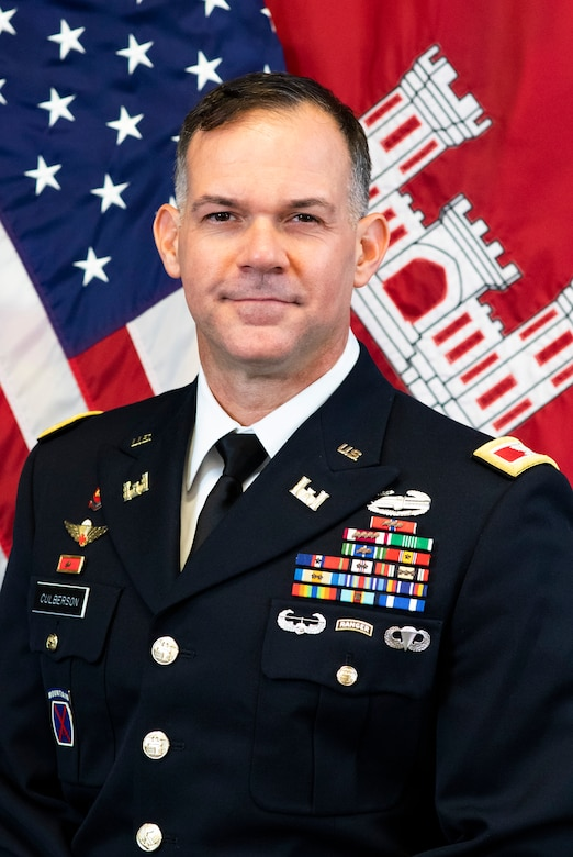Commander and District Engineer Colonel Paul Culberson