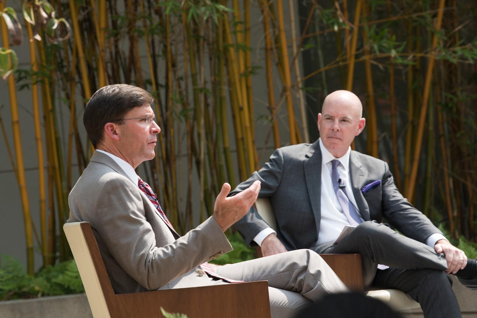 Esper Describes Steps to Maintaining Future Maritime Superiority