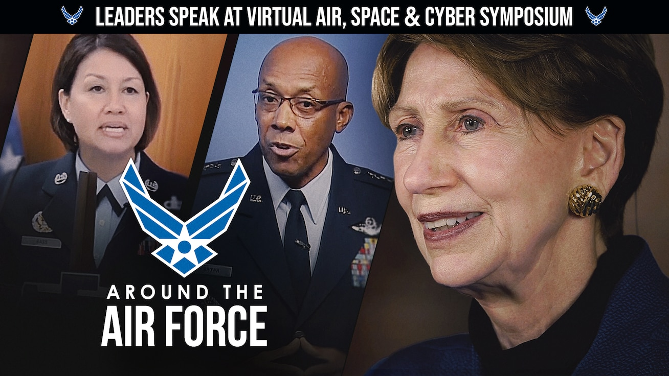 Around the Air Force: Leaders Speak at Air, Space and Cyber Conference