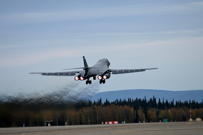 345th EBS launches multi-theater sortie
