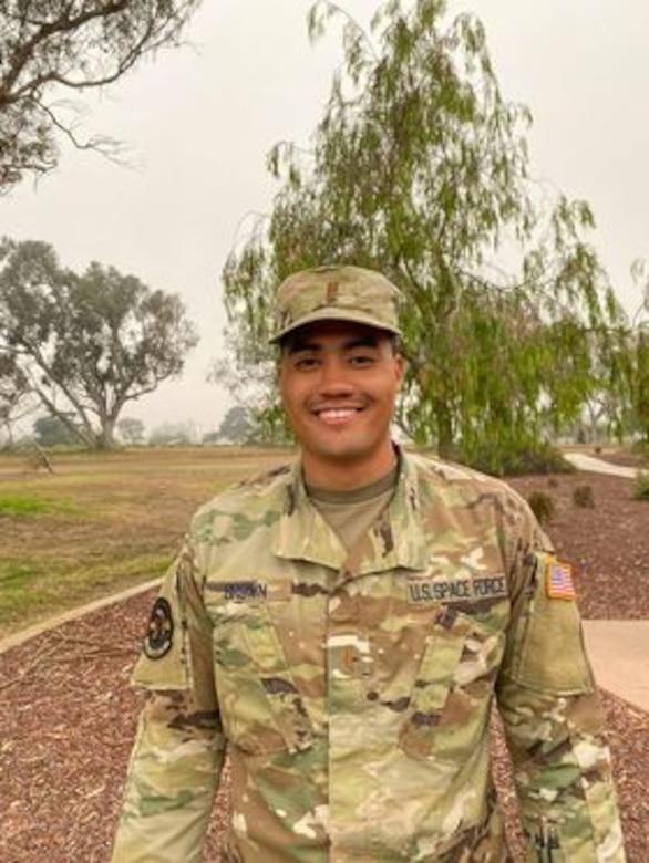 Photo of 2nd Lt. LeSean Brown