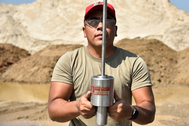 a photo of an Airman working