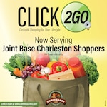 Joint Base Charleston air base commissary customers can do their grocery shopping over the internet starting Sept. 22 when the store starts its CLICK2GO online ordering-curbside pickup service.