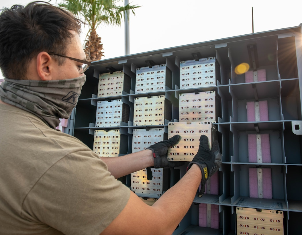 AMMO utilizes new system for 100% munition inventory count