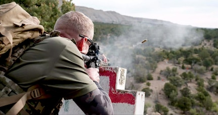 All Guard Marksmanship Team claimed top honors at the Tactical Games, hosted at the North Springs Shooting Range in Price, Utah, Aug. 29-30, 2020. The Tactical Games is an open competition where shooter-athletes must accomplish physically demanding, combat-related tasks within certain time constraints.  The competition also provided a way for National Guard members to identify weaknesses in their overall fitness and put their gear to the test in an austere environment.