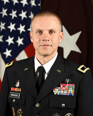 Brig. Gen. Peder L. Swanson Deputy Commanding General (Operations), 807th Medical Command (Deployment Support)
