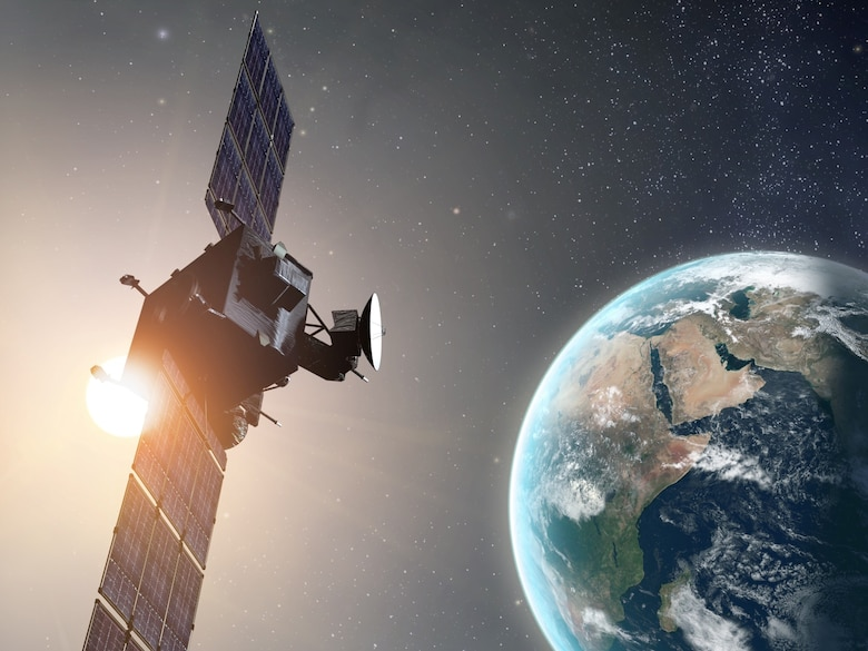National satellite rendering (Courtesy of Northrop Grumman Corporation)