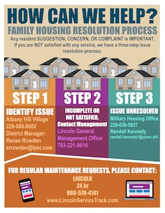 Albany Housing Resolution Flyer