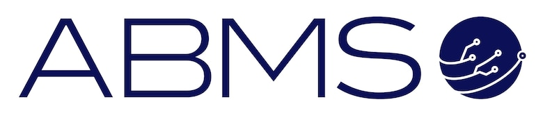 Official logo of the Advanced Battle Management System (ABMS).