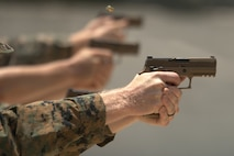 Marine Corps fields first new service pistol in 35 years