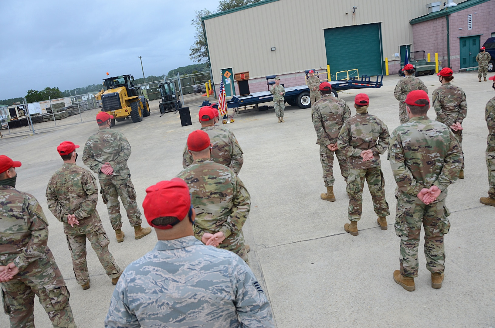 203rd RED HORSE Airmen depart for federal deployment