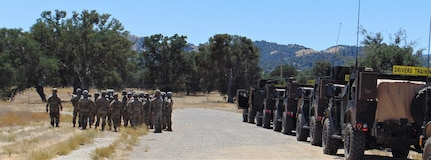 Soldiers in all Army components and multiple military occupational specialties attended the first Fort Hunter Liggett, California, Joint Light Tactical Vehicle Operator New Equipment Training Course Aug. 9-14, 2020. The 94th Training Division – Force Sustainment leads the JLTV driver's training courses for all Army's components. (U.S. Army Reserve photo by Staff Sgt. Eric Sievert)