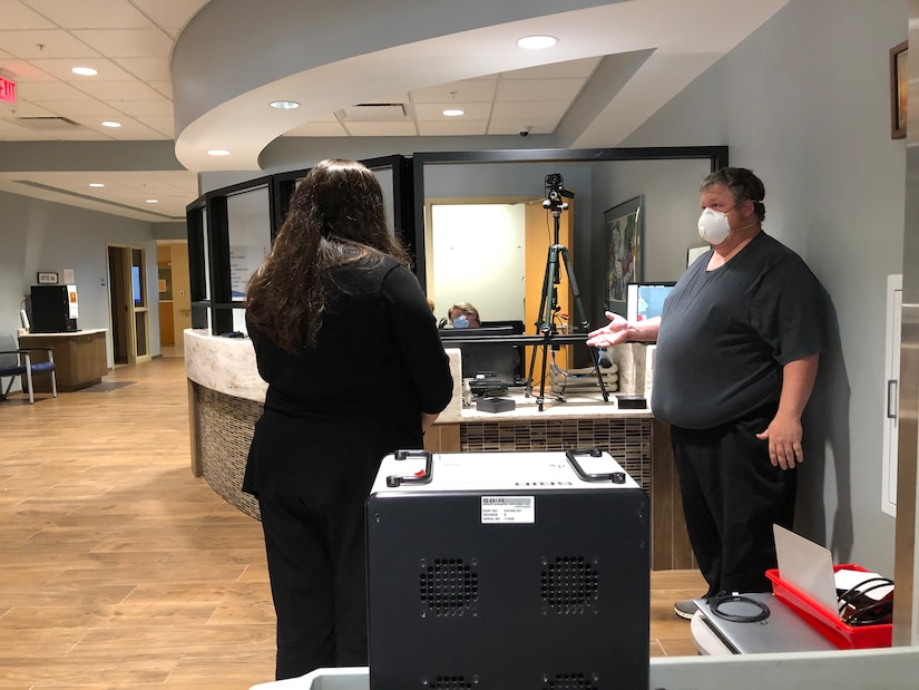 NSWC Crane provides thermal imaging solution to area hospital during coronavirus pandemic