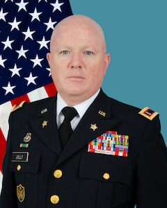 State Command Chief Warrant Officer James Jolly III