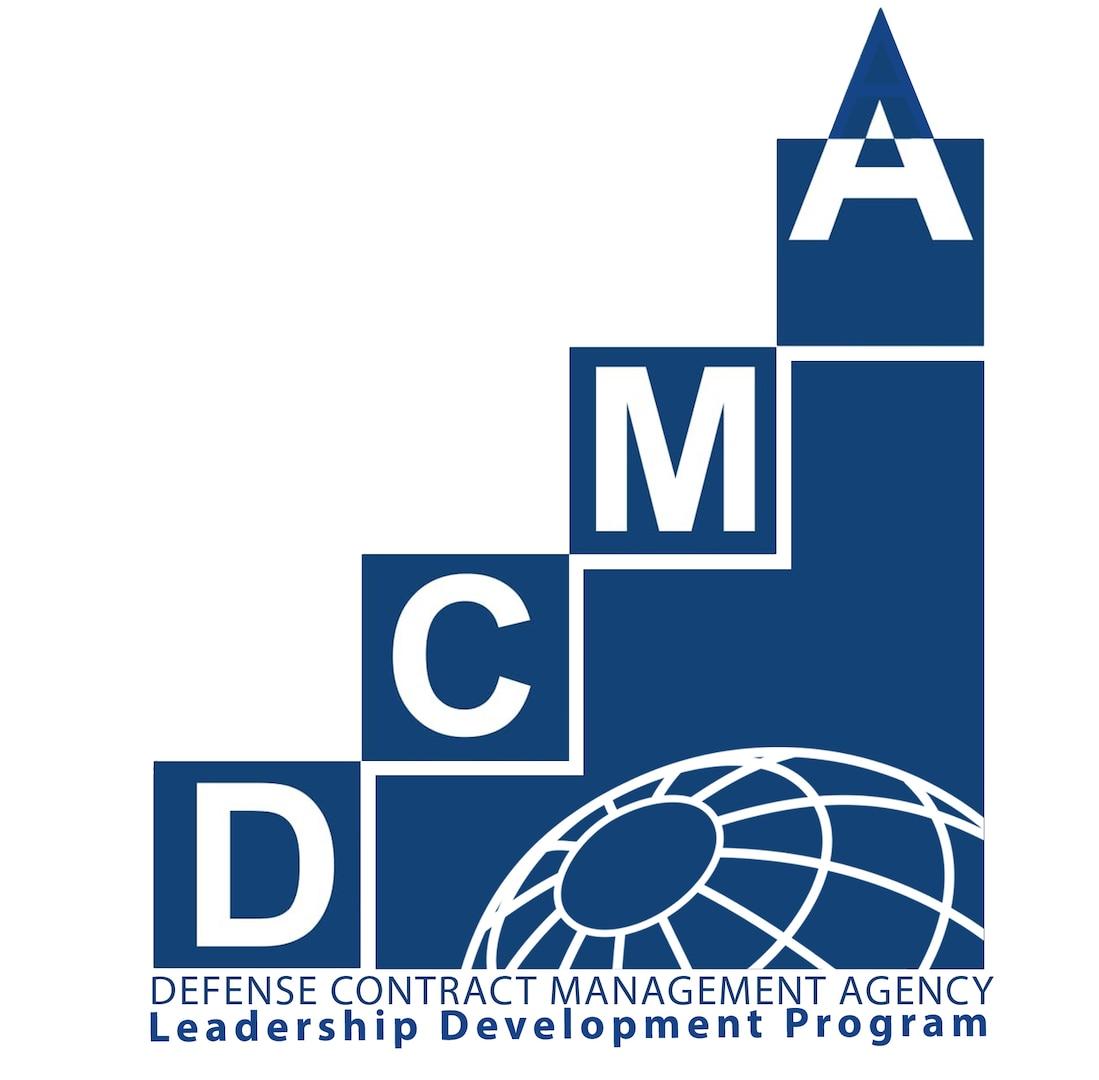Logo with DCMA Leadership Development Program and the globe