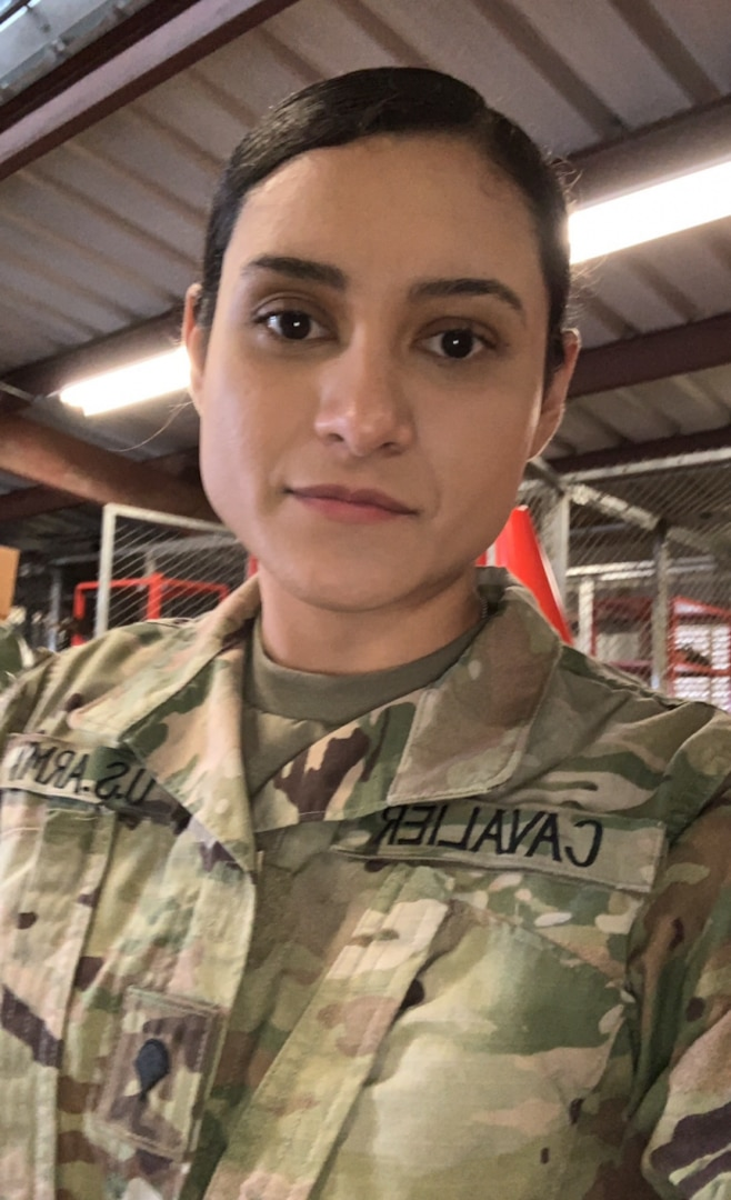 National Guard Soldier discusses pride of service