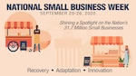 DLA has about 1,200 suppliers and over 80% of them are small businesses.