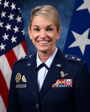 This is the official photo of Maj. Gen. Michele C. Edmondson.