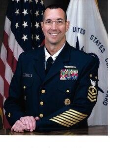 Photo of Command Master Chief Robert J. Pasqua