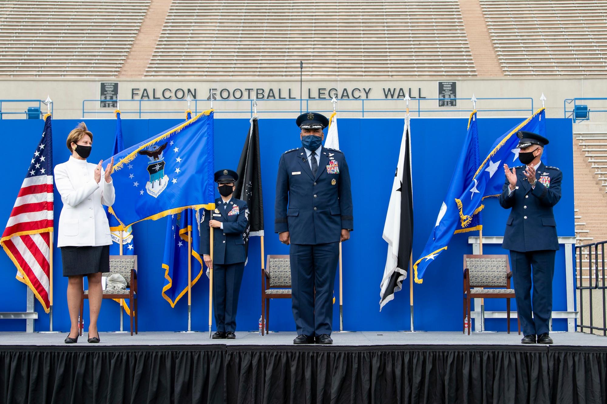 Lt. Gen. Richard Clark Change of Command of Command