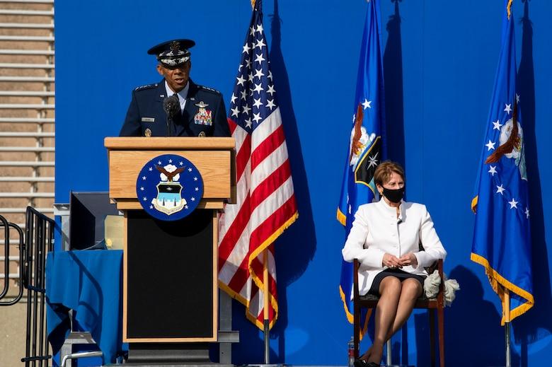 Lt. Gen. Clark Change of Command