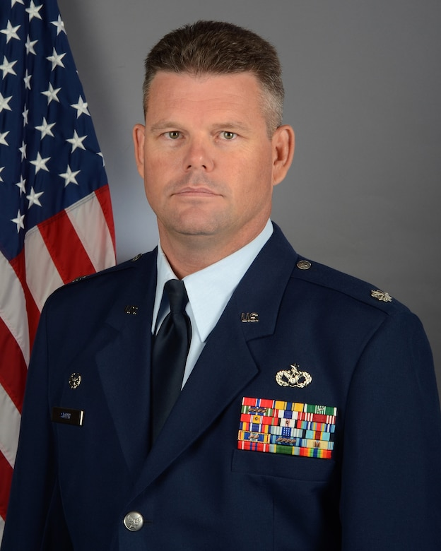 Portrait of U.S. Air Force Lt. Col. Richard Smith, commander of the South Carolina Air National Guard's 169th Civil Engineer Squadron at McEntire Joint National Guard Base, S.C., November 1, 2019. (U.S. Air National Guard photo by Senior Master Sgt. Edward Snyder, 169th Fighter Wing Public Affairs)