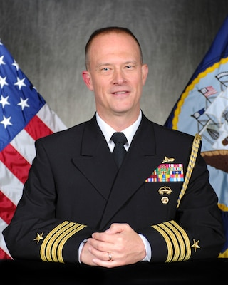 Capt. Stephen G. Mack, the Chief of Staff assigned to Commander, Submarine Force Atlantic. (U.S. Navy photo by MC2 Kristen Yarber)