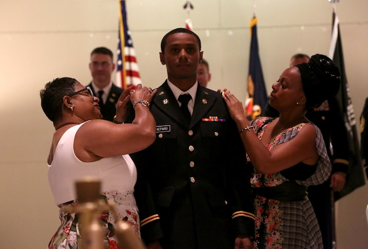 Soldier receives new rank